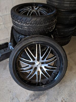 18inch chrome rims and 20inch rims for Sale in Cranford, NJ