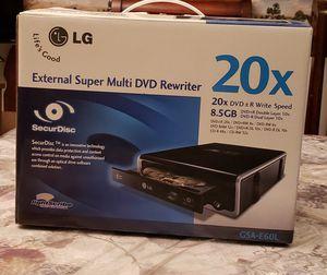 External Super Multi DVD Rewriter for Sale in Moreno Valley, CA
