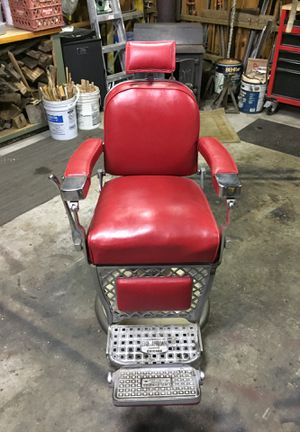 Antique barber chair for Sale in Damascus, MD