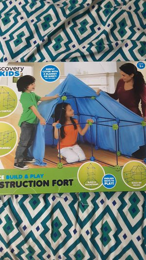 Build & Play Construction Fort - Discovery Kids for Sale in Westborough, MA