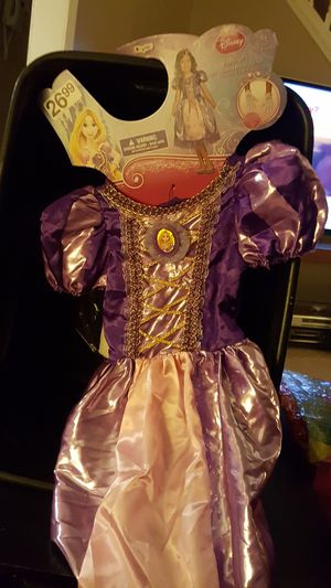 Halloween Costume Disney Rapunzel Size Kids S 4-6 for Sale in Berkeley, IL