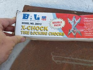 Tire chocks for Sale in Clovis, CA