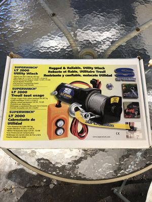 Winch-12VDC New In box for Sale in Seattle, WA