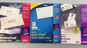 Labels Labels Labels! Various sizes office products for Sale in Montesano, WA