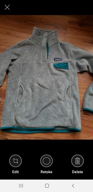 Womens PATAGONIA Gray Polartec Fleece for Sale in PA, US