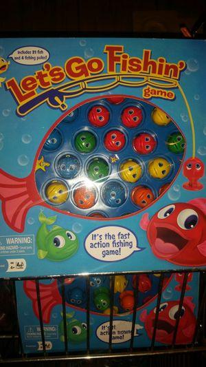 Let's go fishing game for Sale in Ivor, VA