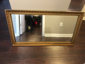 Large Antique J.A. Olsen Permaflect Mirror for Sale in Holly Springs, NC