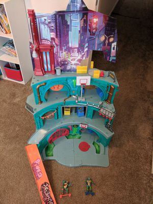 Rise of the teenage mutant Ninja turtles playset for Sale in Cheyenne, WY
