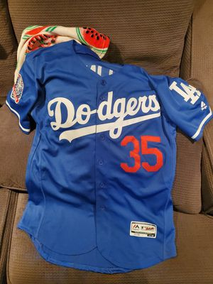 Dodgers Bellinger 35 Jersey size 40 Large for Sale in Los Angeles, CA