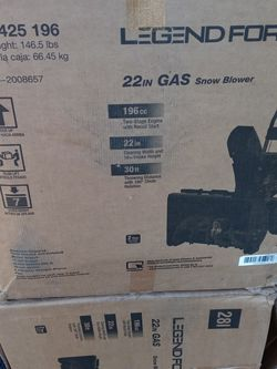 Legend force Snow blower for Sale in Winter Haven,  FL