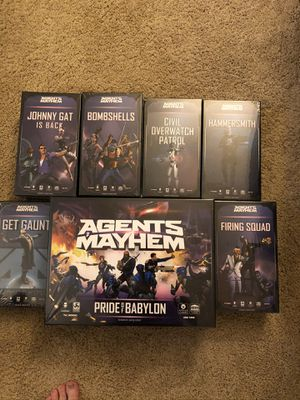 Agents of Mayhem board game bundle! for Sale in Portland, OR