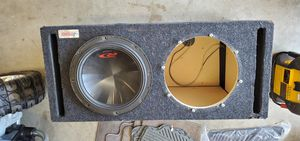 """Dual 12"""" Ported Subwoofer Box for Sale in Oregon City, OR"""