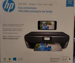 Wireless HP Envy 5052 Print, Scan, Copy for Sale in San Bernardino, CA