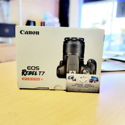 CANON T7 w/ EF-S 18-55mm IS II Kit (No credit needed payment option plan! Put $39 down and get your items TODAY!) for Sale in Fresno,  CA
