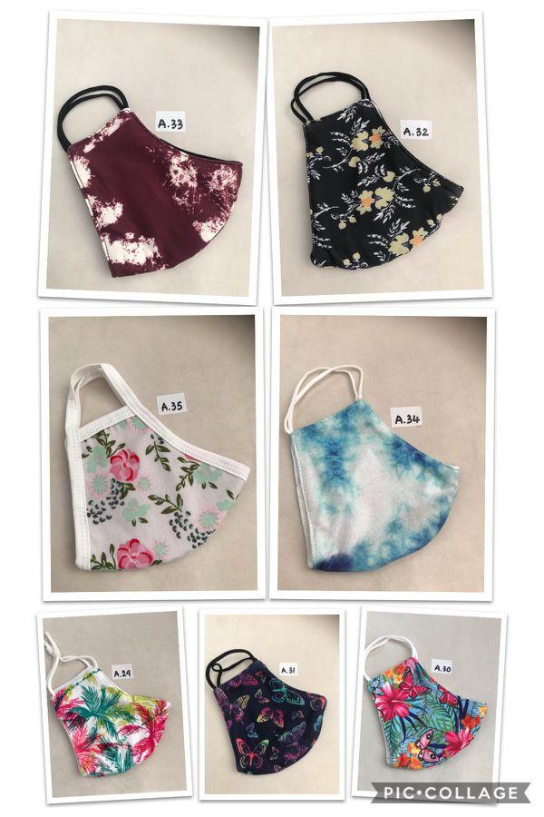 Brand New Fabric Facing Mask — $10/3