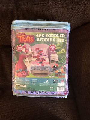 Trolls toddler bed set for Sale in Thornton, CO