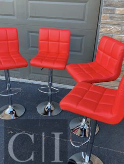Brand New! $60 Each 4 Red Bar Stools for Sale in Orlando,  FL