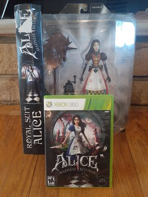 Alice Madness Returns Royal Suit Alice Action Figure Diamond Select for Sale in Savage, MD