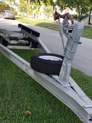 Boat trailer 28 feet aluminum for Sale in Davie, FL