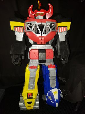"Imaginext Power Rangers Morphine Megazord Playset Giant Robot 27"" Tall for Sale in Zanesville, OH"
