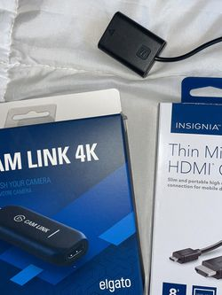 Elgato Cam Link, Micro HDMI Cable, Sony 6000 Dummy Battery for Sale in Humble,  TX