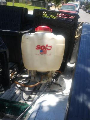 Solo back pack sprayer for Sale in Chino, CA