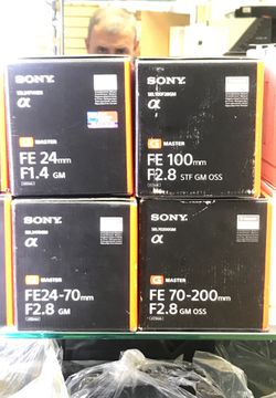 Sony FE 70-200mm f2.8 GM >> payment plan available with no credit needed for Sale in Pasadena,  CA