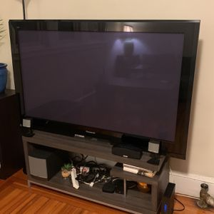 "Panasonic 58"" Plasma TV for Sale in Brookline, MA"
