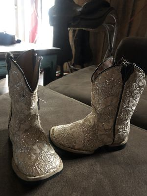 Kids / girls. Tanner Mark, designer cowgirl boots for Sale in Groveton, TX