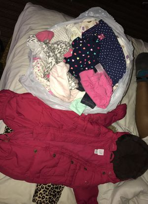 Bag of 0-6 month baby girl clothes for Sale in Washington, DC