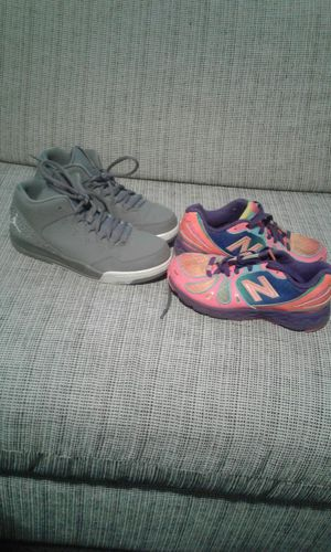 13.5 new balance an size 3 grey Jordan for Sale in Nashville, TN