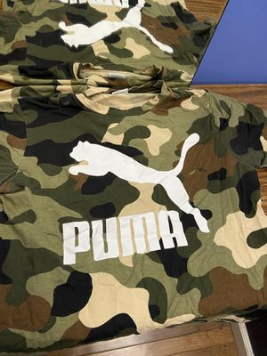 Puma camo print shirt for Sale in Rutherford, NJ