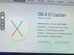 I wipeoff Mac Os for Sale in Fresno, CA