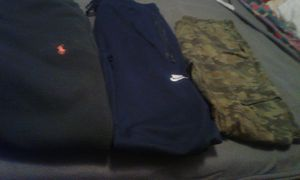 Rl & Nike sweatpants & army fatigue pants for Sale in Los Angeles, CA