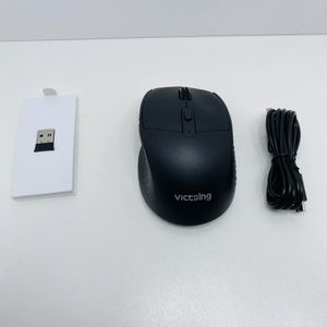 Victsing Wireless Mouse Rechargeable - Comfortable Ergonomic Mouse Silent Click for Sale in Escondido, CA