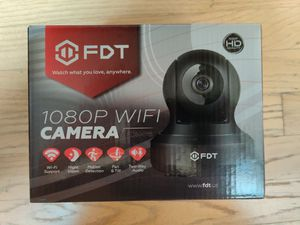 1080p Home wifi camera for security, Two way audio speak and listen - BRAND NEW - pick up Vernon Hills area only, cash payment for Sale in Vernon Hills, IL