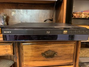Sony blue ray CD player for Sale in Tampa, FL