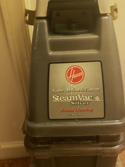 Hoover SteamVac Floor Cleaner Silver for Sale in Stanton,  KY