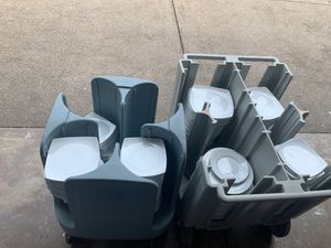 Dish storage, Cambro and Metro Dish containers dish storage for Sale in Portland, OR