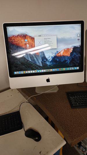 "2007 Apple iMac 24"" Intel Core 2 Duo All in One Desktop Computer for Sale in Richmond, VA"
