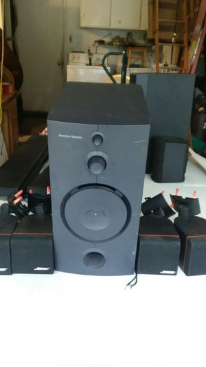 Harman Kardon sub bass woofer with for Bose surround sound speakers for Sale in Palm Harbor, FL