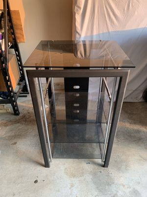TV Stand 4glass shelve 🤗 for Sale in Norcross, GA