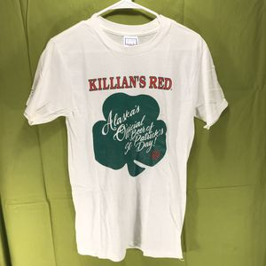 Vintage 1989 George Killian's Irish Red St Paddy's Day T-Shirt Men's Med for Sale in Anchorage, AK