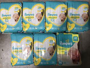 $6 each newborn pampers swaddler for Sale in Fort Lauderdale, FL
