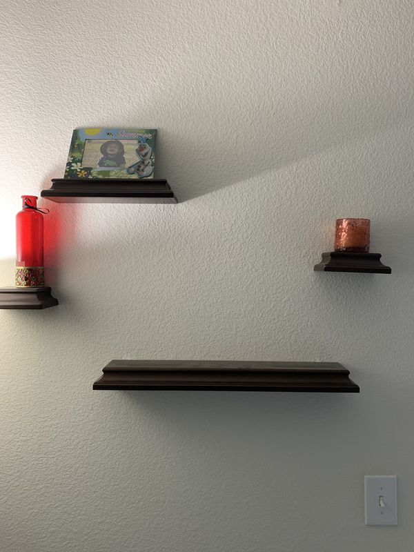 Wall Decor 4 Shelves