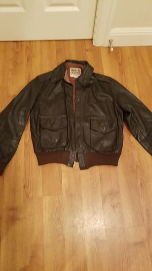 1950s leather flight jacket size small for Sale in Renton, WA