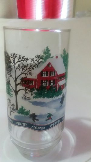 COLLECTIBLE PEPSI FROSTED CHRISTMAS SCENE PANEL for Sale in Wilmington, DE