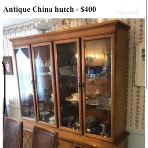 Antique China Hutch; Best Offer for Sale in Sparks Glencoe, MD
