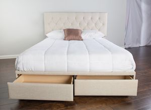 Storage platform queen bed frame (new in box) for Sale in Spokane, WA