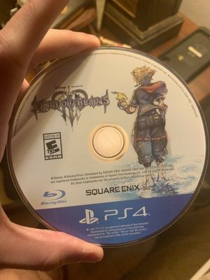 Kingdom hearts 3 ps4 for Sale in Cary, NC